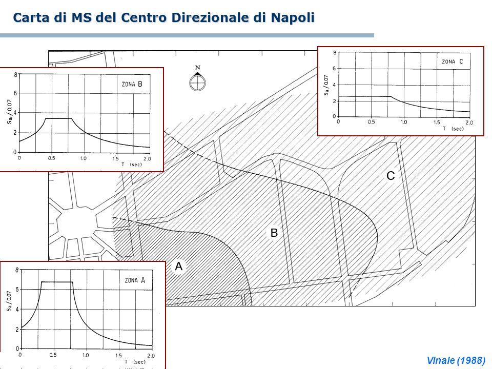 Carta di MS del Centro Direzionale di Napoli Vinale (1988)