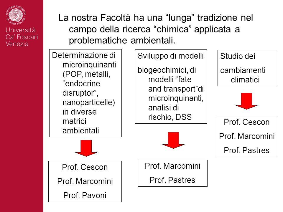 Valutazione della pericolosità e del comportamento ambientale di nanoparticelle ingegnerizzate (A.