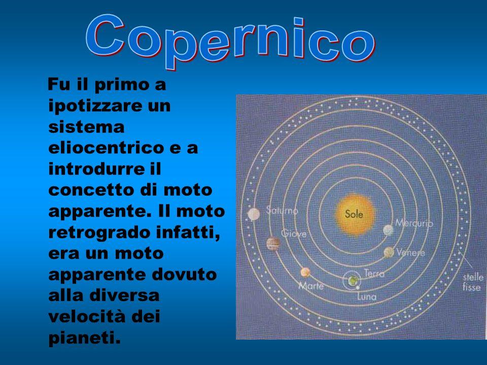 Fu il primo a ipotizzare un sistema eliocentrico e a introdurre il concetto di moto apparente. Il moto retrogrado infatti, era un moto apparente dovut