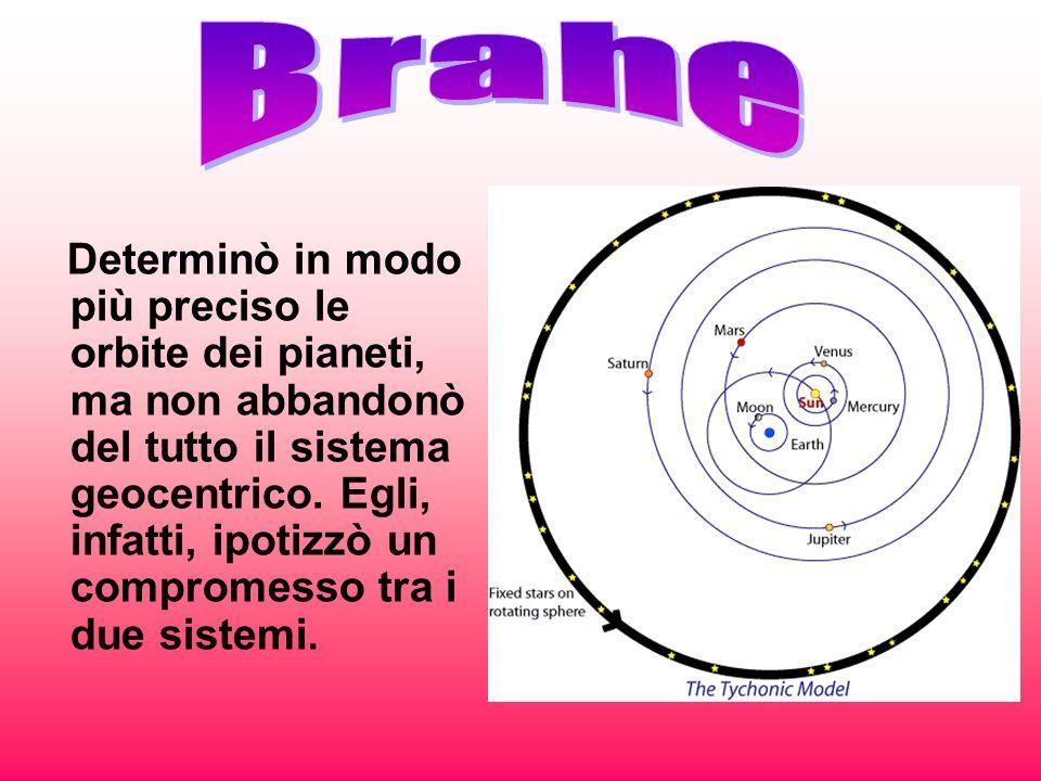 Determinò in modo più preciso le orbite dei pianeti, ma non abbandonò del tutto il sistema geocentrico. Egli, infatti, ipotizzò un compromesso tra i d