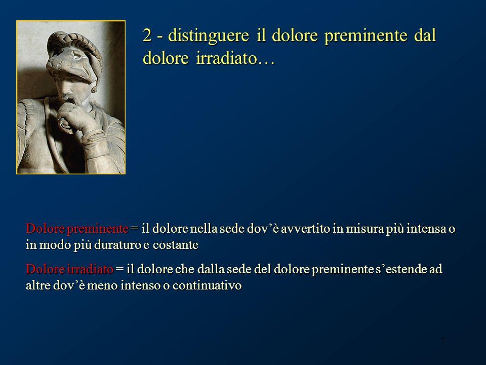 38 …nello spazio epidurale Medicina del dolore, Casa di Cura Cellini Torino