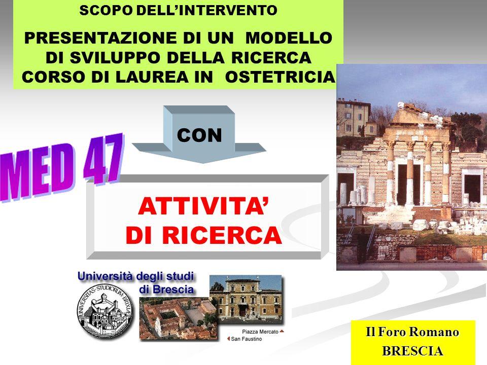 25 LEVOLUZIONE DELLA RICERCA DEL MED 47 IN SEDE LOCALE HA CONTRIBUITO IN QUESTI ANNI ASSOCIAZIONE ITALIANA PER LO SVILUPPO DELLA DISCIPLINA OSTETRICA attraverso la ricerca FONDAZIONE