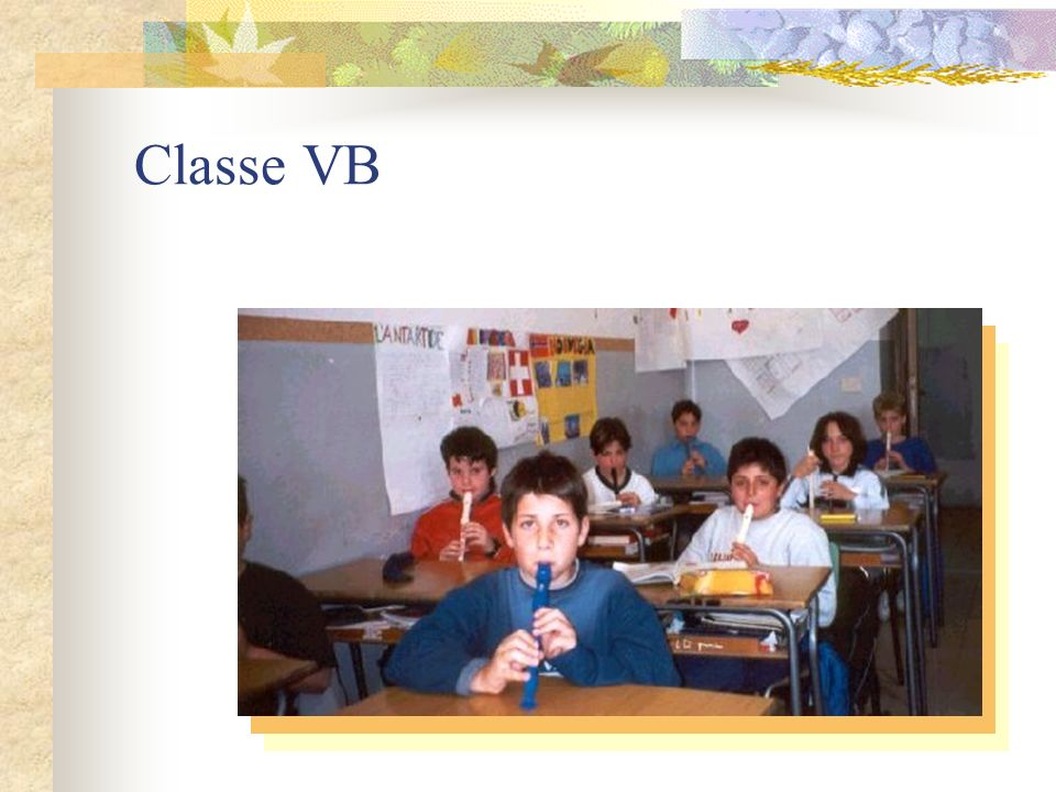 Classe V A