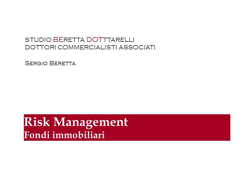 2 RISK MANAGEMENT Monitoraggio dei rischi Attività di investimento: Contenimento e frazionamento del rischio