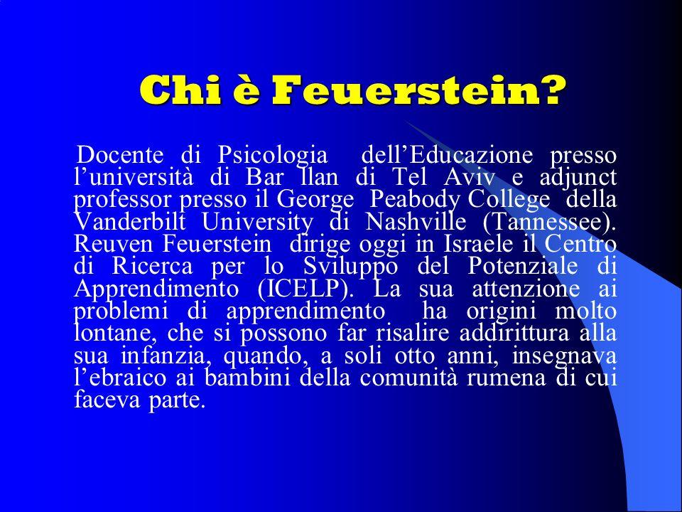 Chi è Feuerstein.
