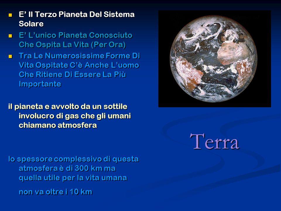 Terra E Il Terzo Pianeta Del Sistema Solare E Il Terzo Pianeta Del Sistema Solare E Lunico Pianeta Conosciuto Che Ospita La Vita (Per Ora) E Lunico Pi