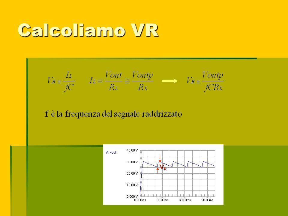 Calcoliamo VR VRVRVRVR VRVRVRVR