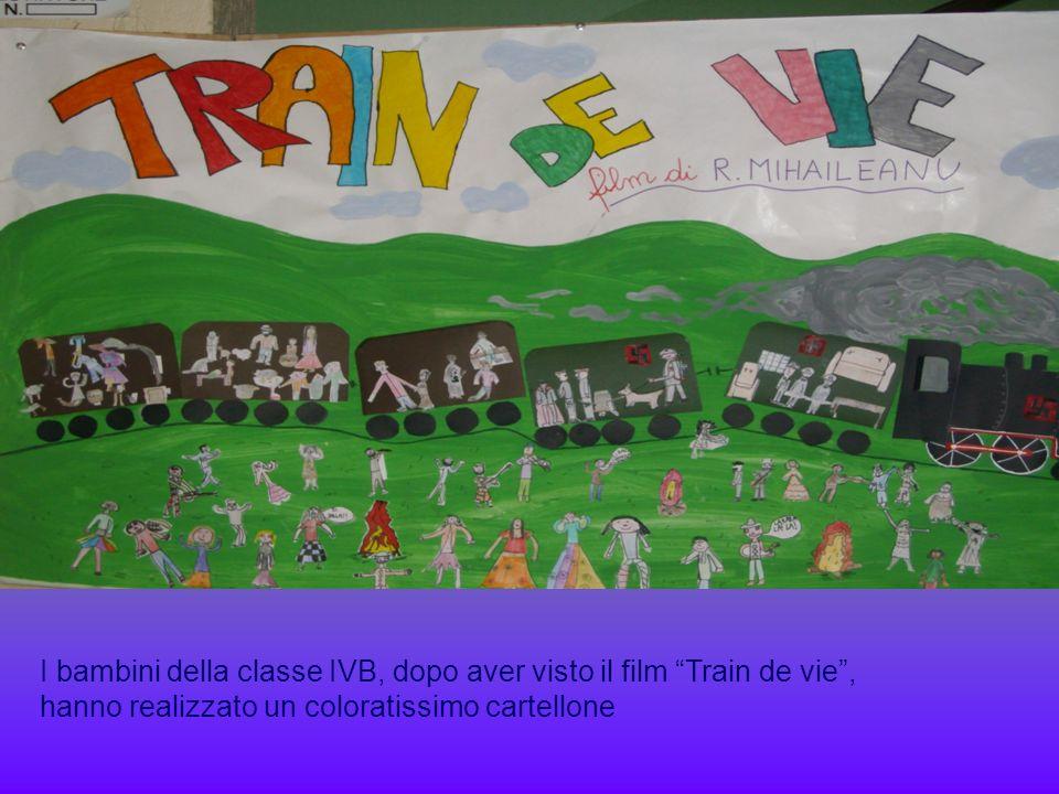 I bambini della classe IVB, dopo aver visto il film Train de vie, hanno realizzato un coloratissimo cartellone
