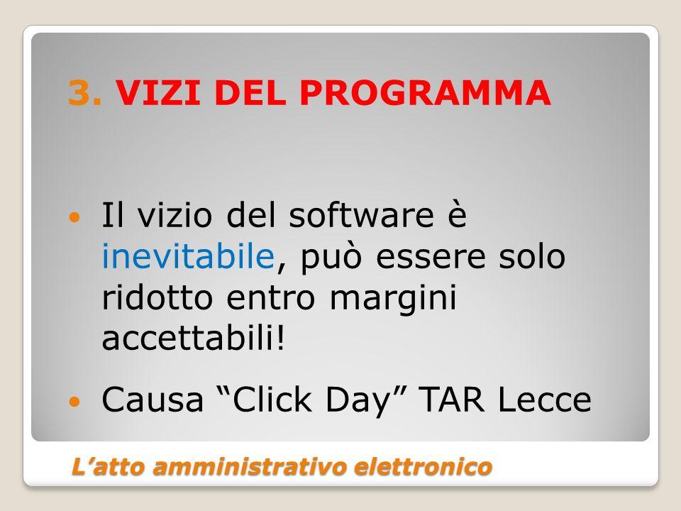 Latto amministrativo elettronico Latto amministrativo elettronico 3.