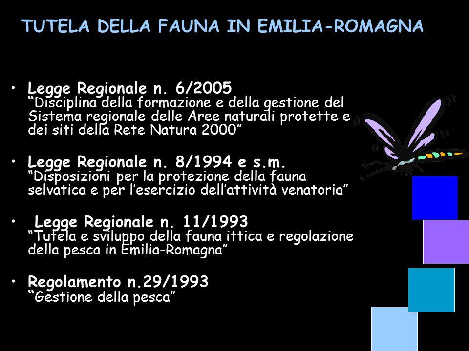 Legge Regionale n. 6/2005Disciplina della formazione e della gestione del Sistema regionale delle Aree naturali protette e dei siti della Rete Natura