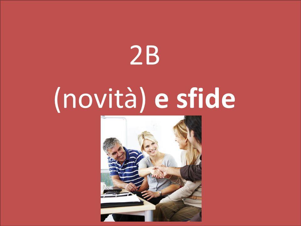 2B (novità) e sfide
