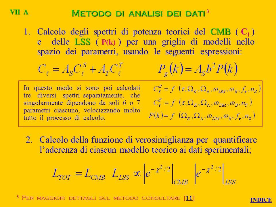 Funzione di verosimiglianza Data una funzione di distribuzione x della variabile casuale X dipendente dal vettore dei parametri, se considero un insieme di n valori assunti dalla variabile casuale, definisco come funzione di verosimiglianza: che rappresenta una quantità proporzionale alla probabilità che gli n valori della variabile casuale si presentino allosservazione.