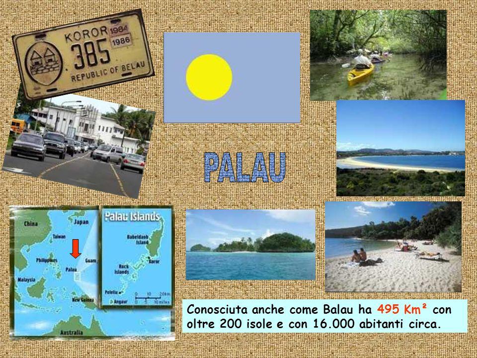 Lisola di 21,4 km² dal 1968 è uno stato indipendente dellOceania con 10.000 abitanti.E la repubblica più piccola del mondo.