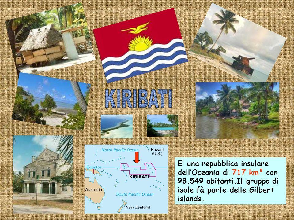E una nazione e unisola di 754 Km² nel Mar dei Caraibi con 70.000 abitanti.Dal 1978 è una repubblica indipendente.
