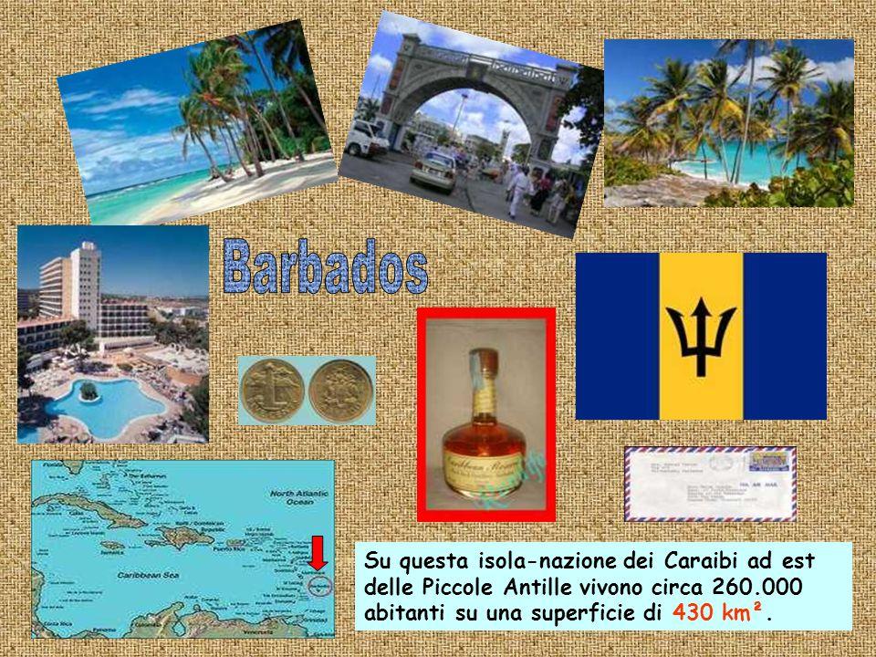 Questa nazione caraibica di 443 Km² ha una popolazione di 83.000 abitanti.