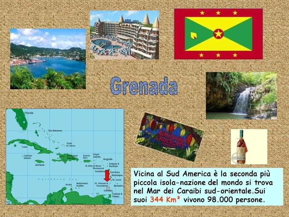 Su questa isola-nazione dei Caraibi ad est delle Piccole Antille vivono circa 260.000 abitanti su una superficie di 430 km².