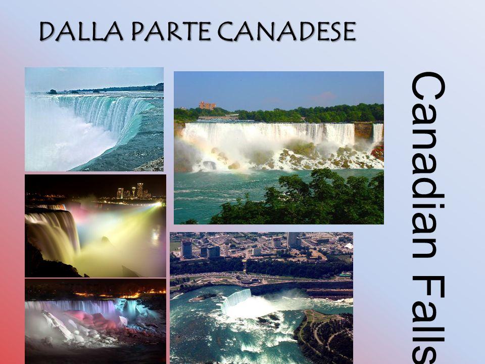 Canadian Falls DALLA PARTE CANADESE