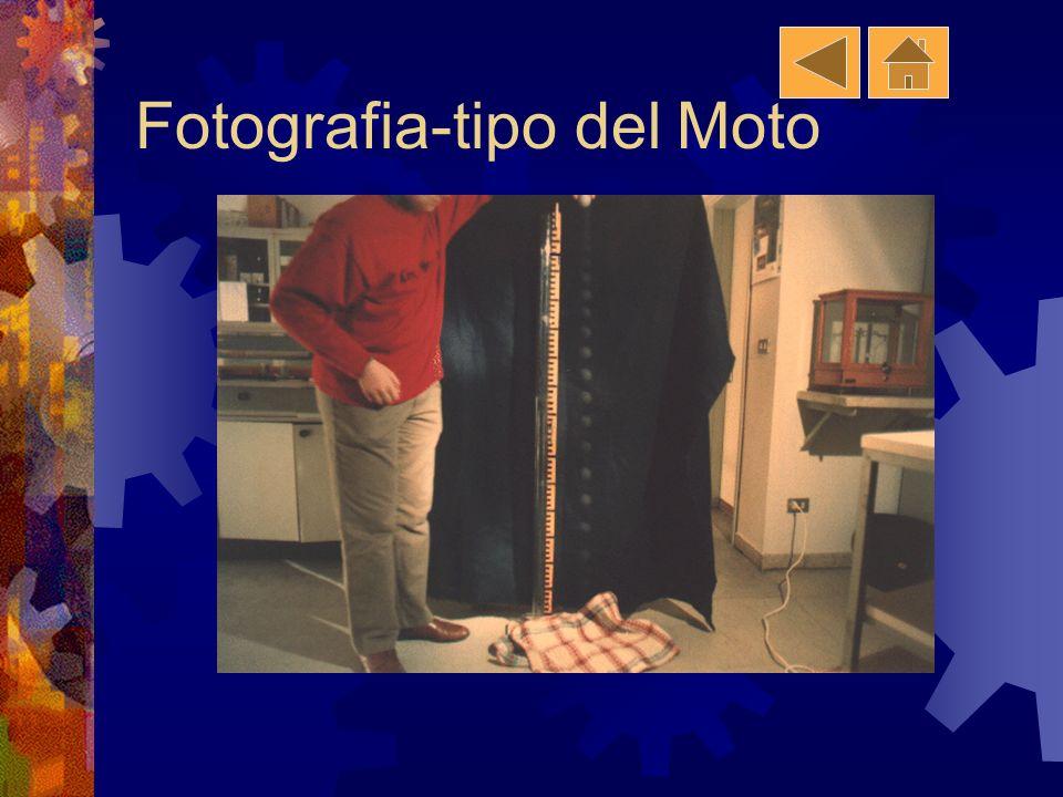 Metodo Usato Filmato e misurazione dati fotogramma per fotogramma Fotografia con otturatore sempre aperto e: Fotografia Stroboscopio Lampada strobosco