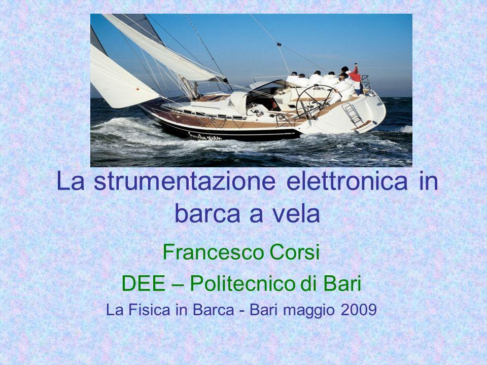 La strumentazione elettronica in barca a vela Francesco Corsi DEE – Politecnico di Bari La Fisica in Barca - Bari maggio 2009