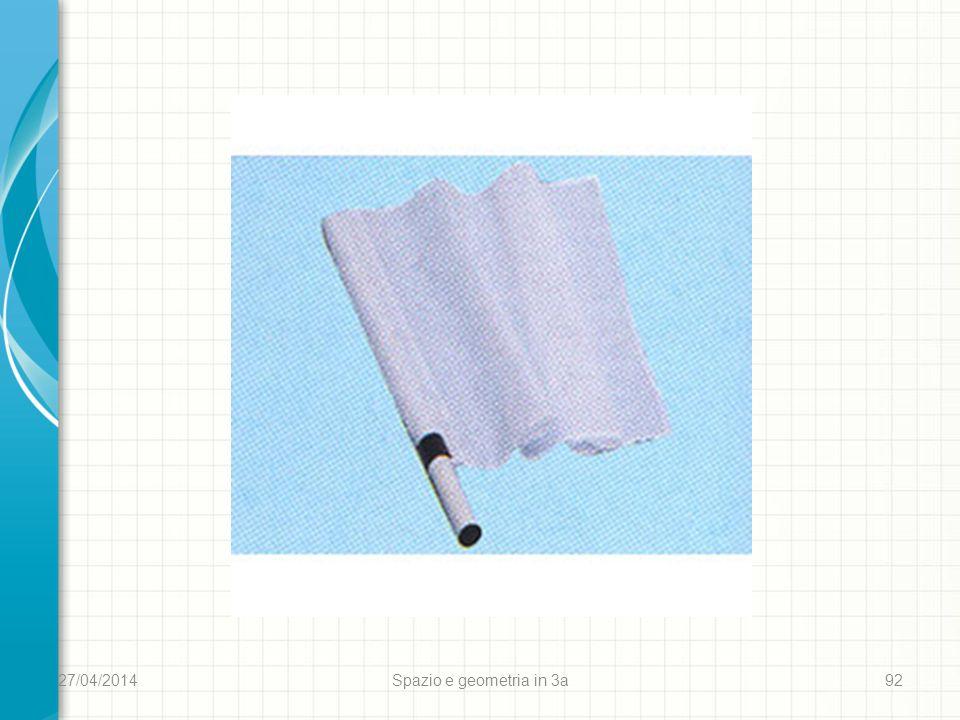 27/04/2014 Spazio e geometria in 3a 92