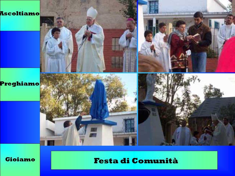 Ascoltiamo Preghiamo Gioiamo Festa di Comunità