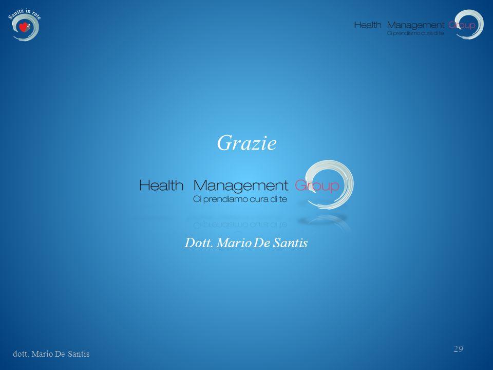 dott. Mario De Santis 29 Grazie Dott. Mario De Santis