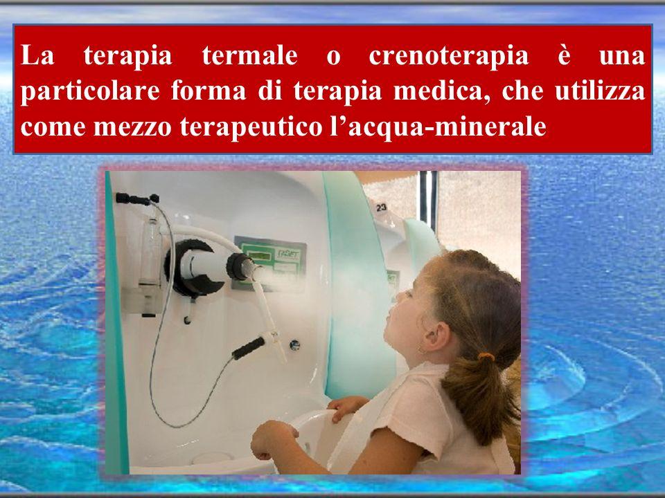 La terapia termale ripristina e potenzia i normali sistemi di difesa mucosali.