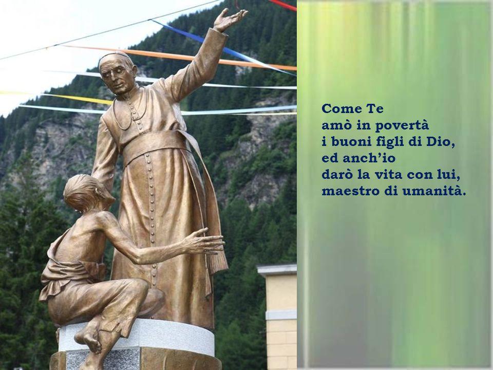 Gloria a Te, Signore Gesù amore che è Trinità e da Te, Luigi imparò dal vivo la tua bontà.