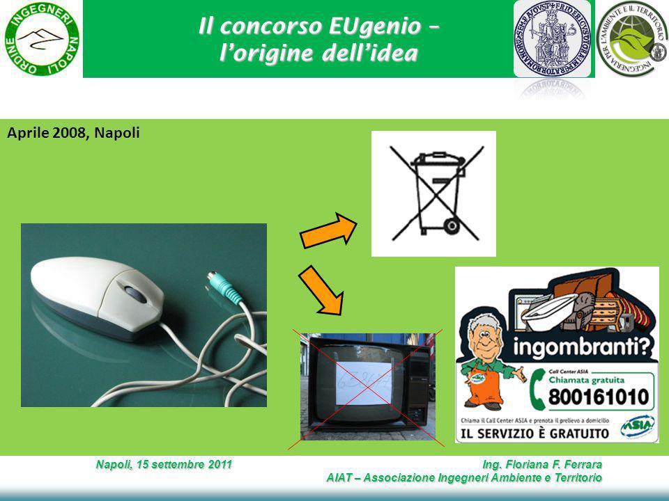 Il concorso EUgenio – lorigine dellidea Napoli, 15 settembre 2011 Ing.