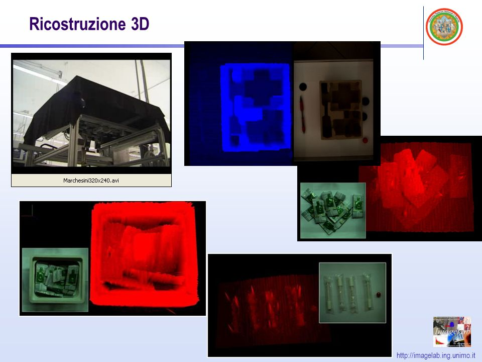 http://imagelab.ing.unimo.it Ricostruzione 3D