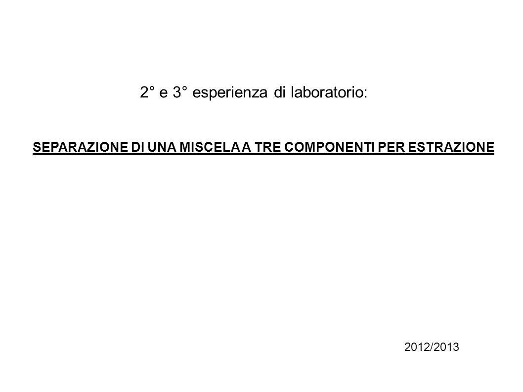 Norme di sicurezza in laboratorio: 1.Lutilizzo di guanti e occhiali è obbligatorio; 2.