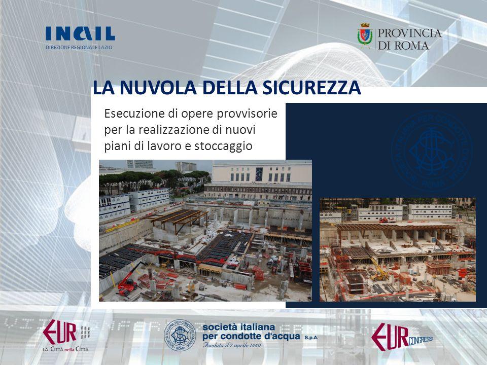 DIREZIONE REGIONALE LAZIO LA NUVOLA DELLA SICUREZZA Foto arch.