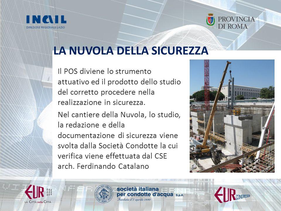 DIREZIONE REGIONALE LAZIO LA NUVOLA DELLA SICUREZZA La carpenteria metallica del Plenum: 1.