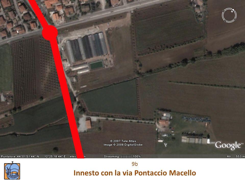 9b Innesto con la via Pontaccio Macello