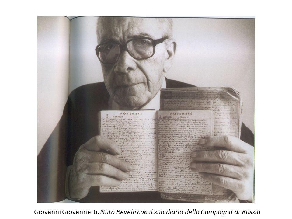 Giovanni Giovannetti, Nuto Revelli con il suo diario della Campagna di Russia