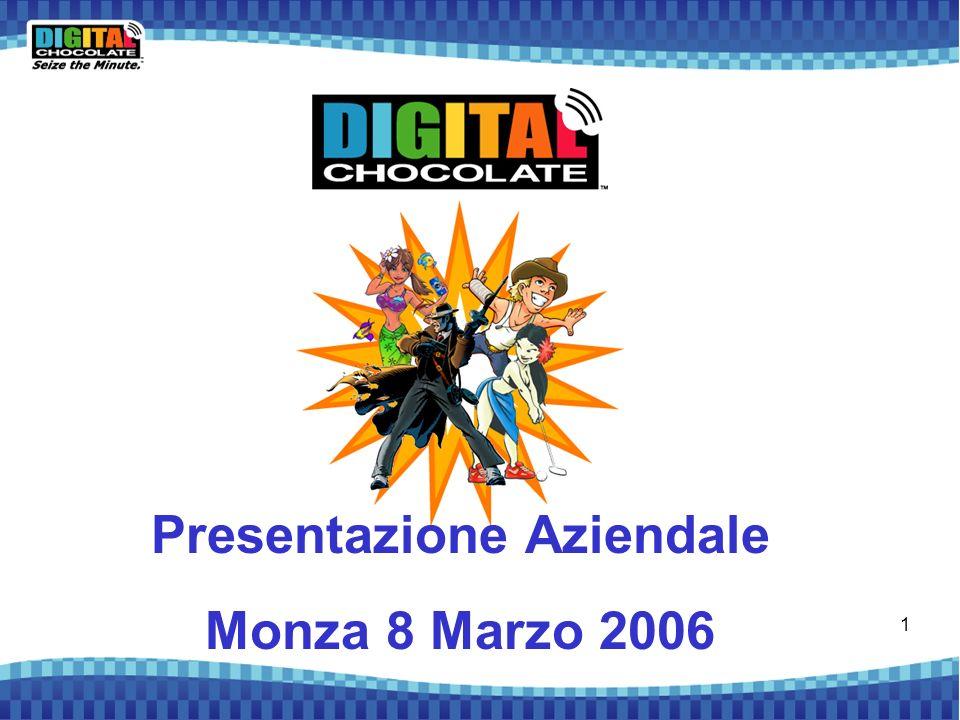 1 Presentazione Aziendale Monza 8 Marzo 2006