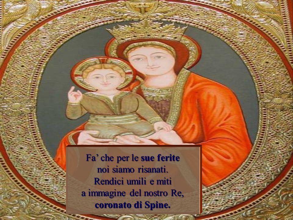 Insegnami, o Maria, il coraggio di stare con Cristo nellora dellangoscia, ripetendo con lui: Padre si faccia la tua volontà.