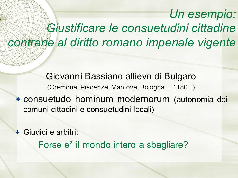 AZZONE (fine XII, inizio XIII secolo) Allievo di Giovanni Bassiano Docente a Bologna Summa codicis Lectura (cfr.