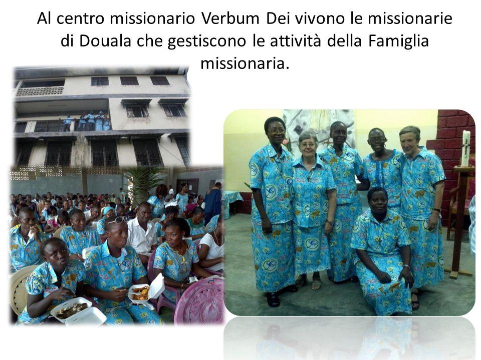 Al centro missionario Verbum Dei vivono le missionarie di Douala che gestiscono le attività della Famiglia missionaria.