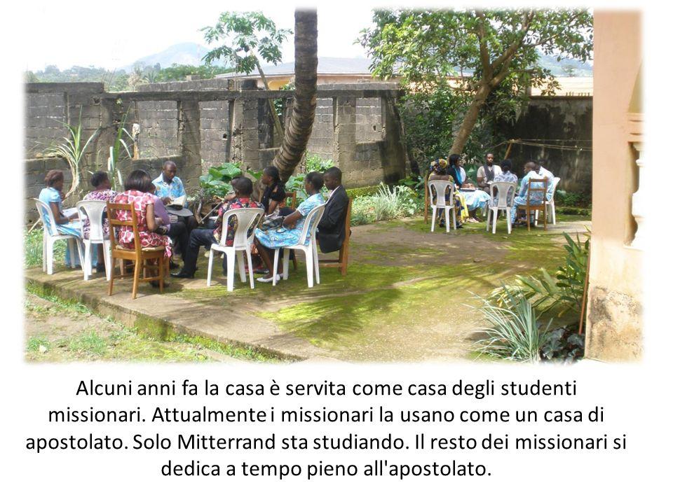 Alcuni anni fa la casa è servita come casa degli studenti missionari. Attualmente i missionari la usano come un casa di apostolato. Solo Mitterrand st