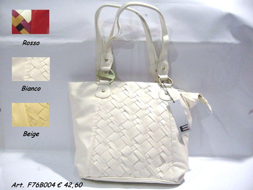 Rosso Bianco Beige Art. F76B004 42,60
