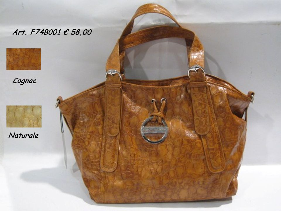 Art. F74B001 58,00 Cognac Naturale
