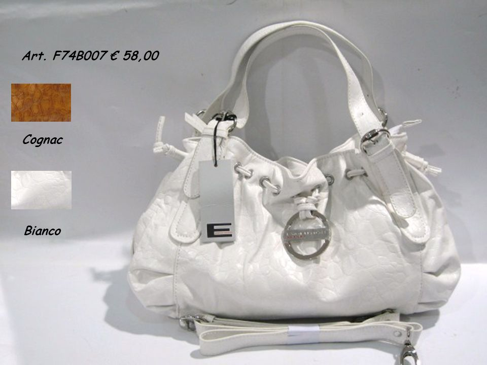 Art. F74B007 58,00 Cognac Bianco