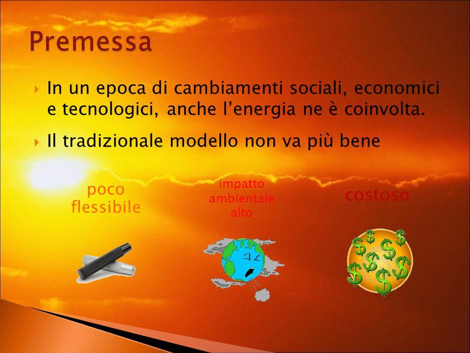 In un epoca di cambiamenti sociali, economici e tecnologici, anche lenergia ne è coinvolta.