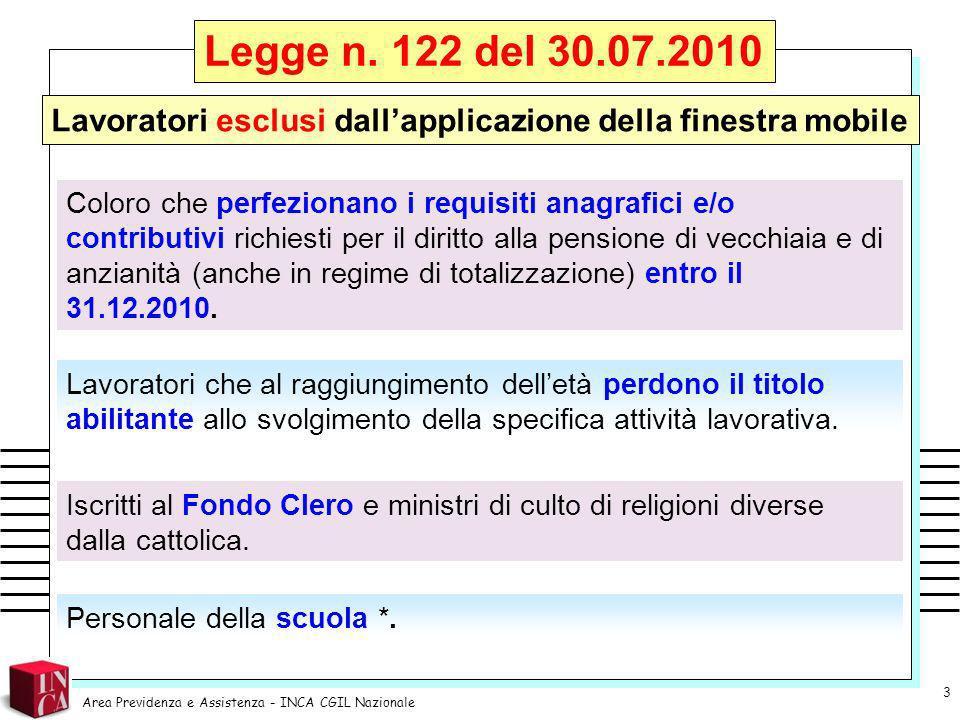 Legge n.111 del 15.07.2011 (di conversione del DL n.