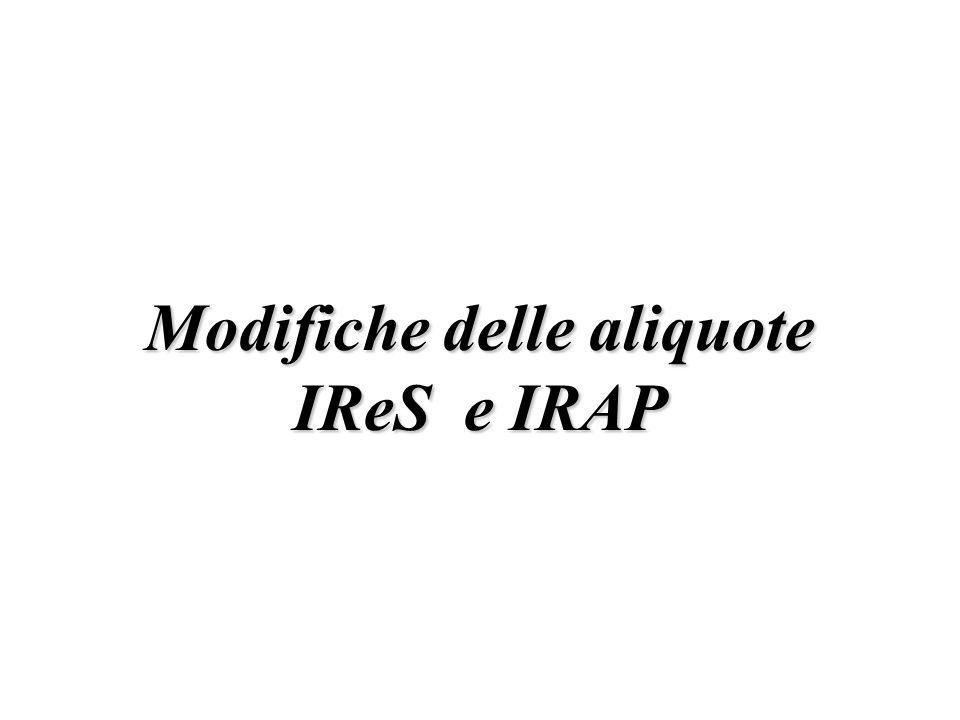 Base imponibile IRAP per i soggetti IRPeF in regime dimpresa (articolo 5-bis, D.Lgs.