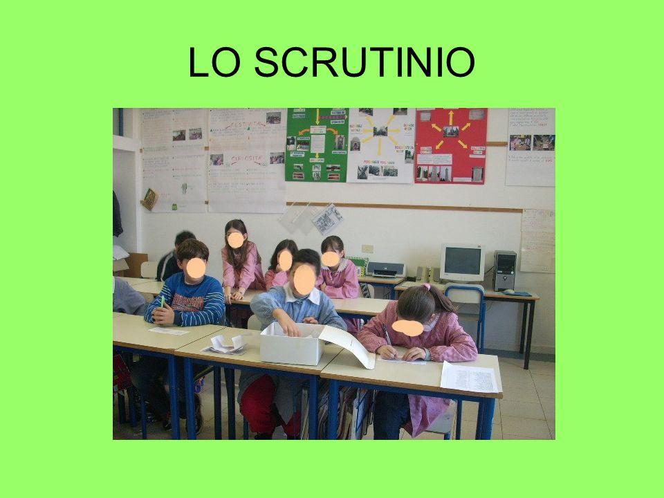 LO SCRUTINIO
