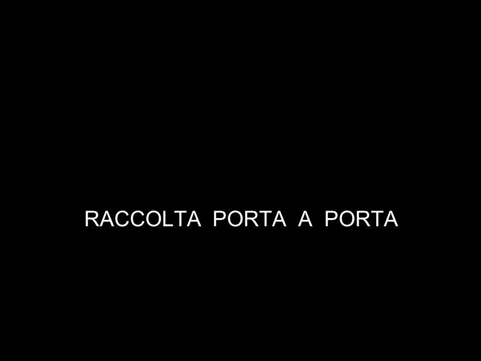 RACCOLTA PORTA A PORTA
