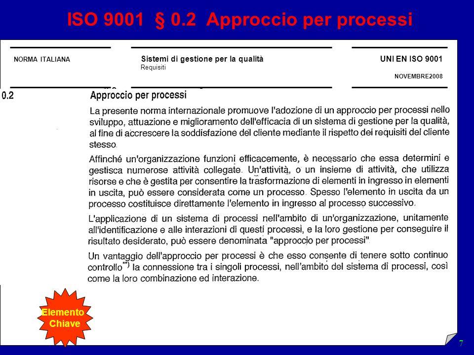 SGQ 18 LA MAPPATURA DI LIVELLO 1