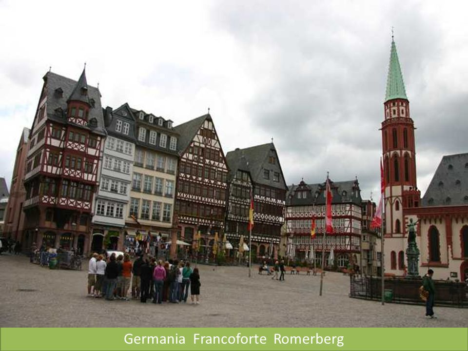 Germania Francoforte Romerberg